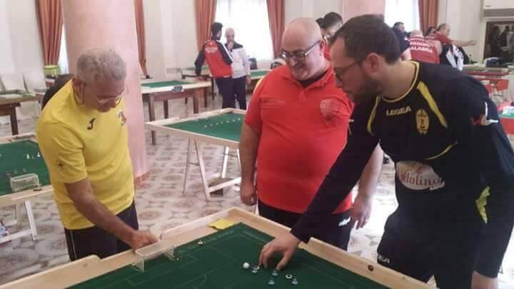 ASD Subbuteo Catanzaro all'Open Taranto