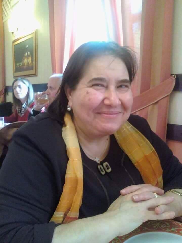Sig.ra Rosetta Ruberto - Maestra di Cucina dell'Accademia delle Tradizioni Popolari Calabresi