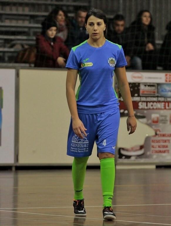 Il capitano Alessandra Marrazzo