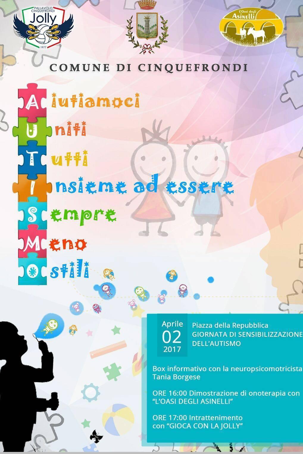 Giornata Mondiale della Consapevolezza - Cinquefrondi