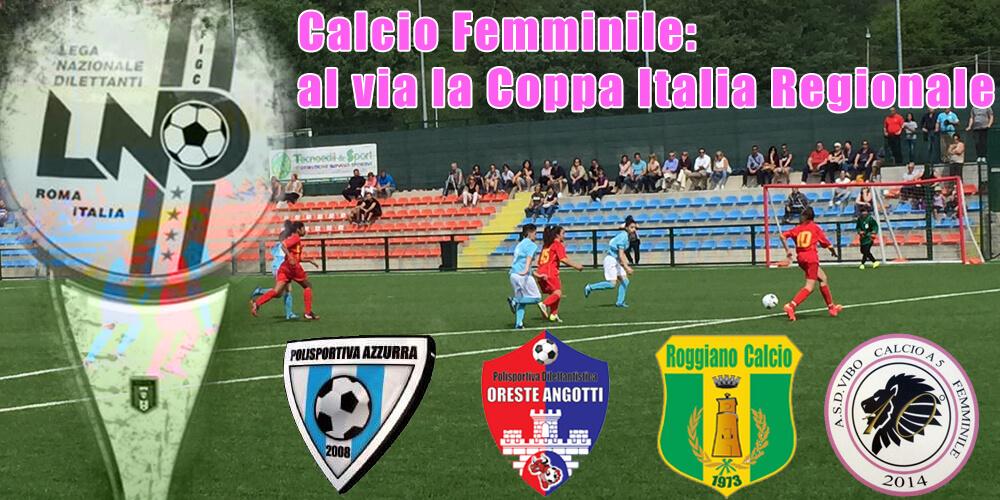 Coppa Italia Regionale di Calcio a 11 Femminile