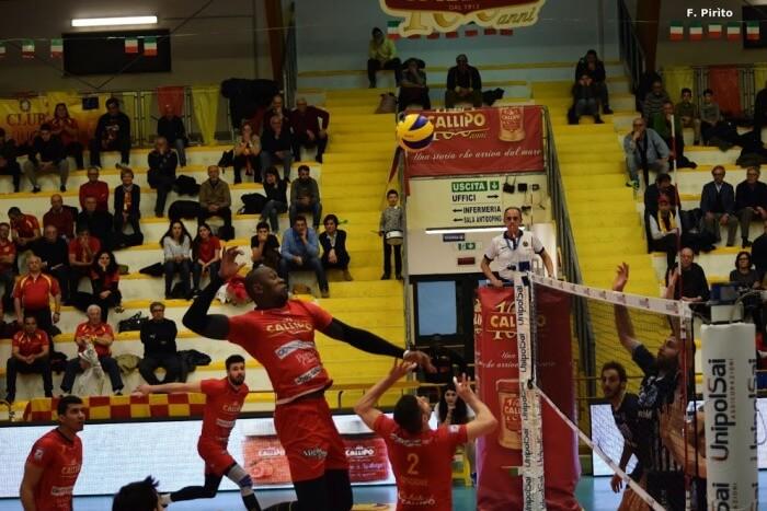 Deivid Junior Costa in attacco nel match di campionato contro Latina (foto di Franco Pirito)
