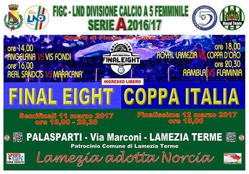 Final Eight a Lamezia Terme