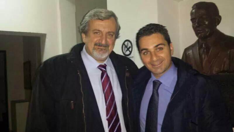 Luca Branda e Michele Emiliano