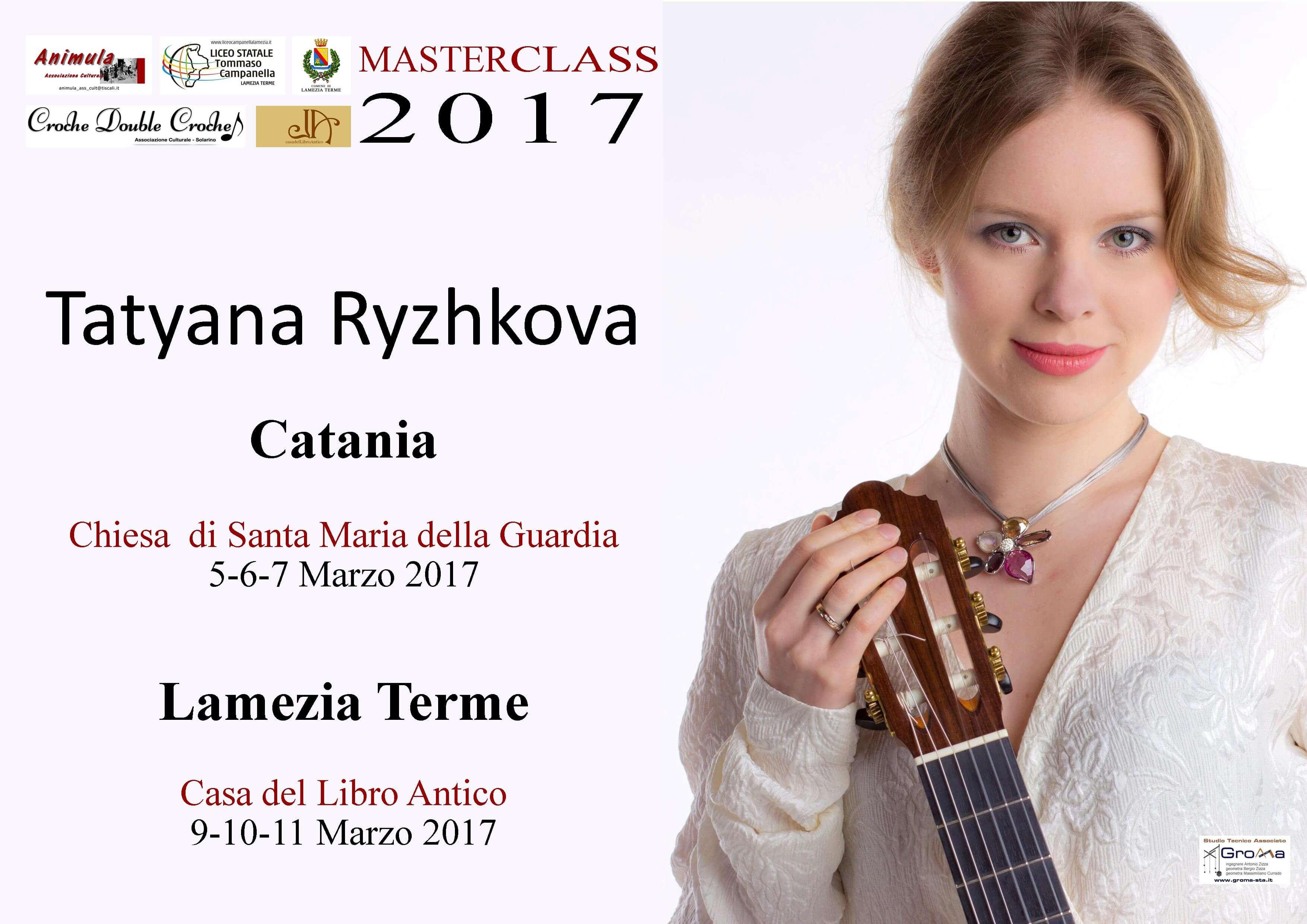 Masterclass Tatyana Ryzhkova