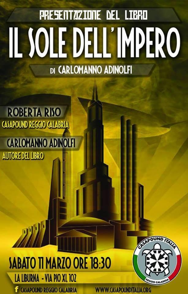 """""""Il Sole dell'Impero"""", CasaPound Reggio Calabria"""