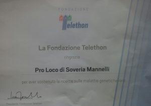Telethon Soveria Mannelli