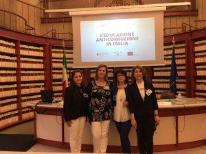 educazione anticorruzione in Italia