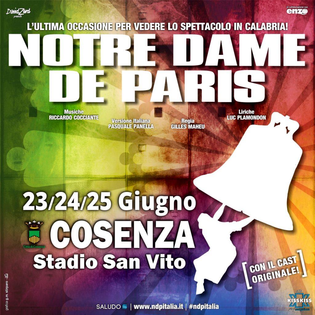 Notre Dame de Paris a Cosenza - LameziaTerme.it