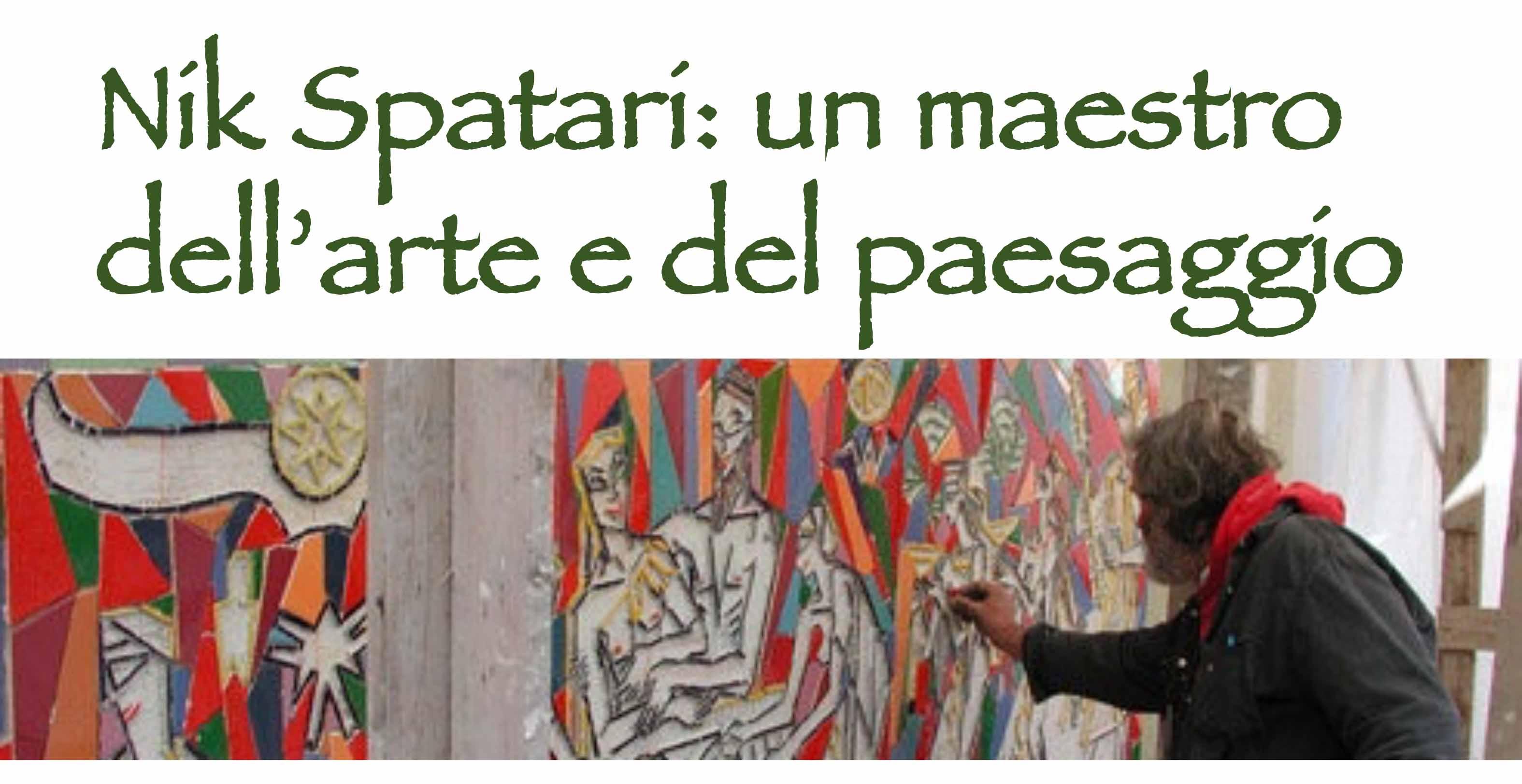 Nik Spatari: un maestro dell'arte e del paesaggio - LameziaTerme.it