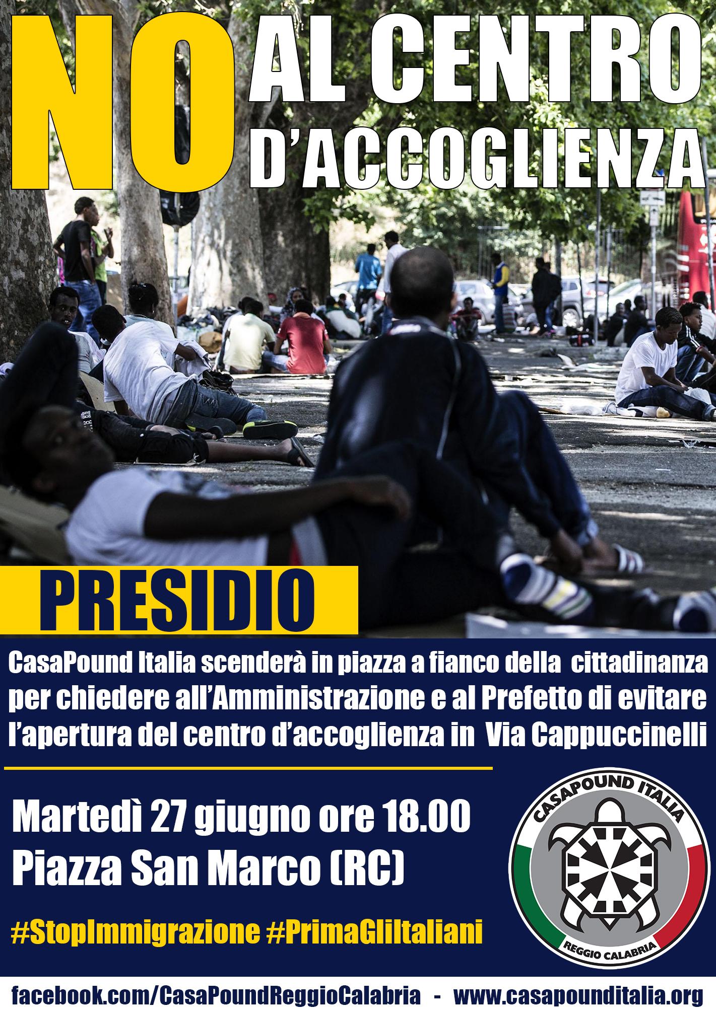 Presidio CasaPound Reggio Calabria - LameziaTerme.it
