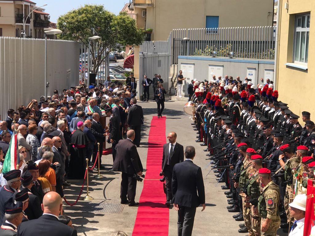 Inaugurazione Nuova Caserma Gruppo Carabinieri-LameziaTermeIt