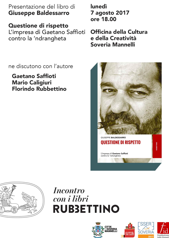 Questione di rispetto, il libro di Baldessarro - LameziaTerme.it