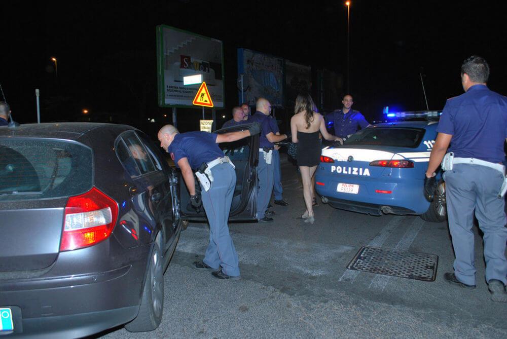Operazione anti-prostituzione nella Sibaritide