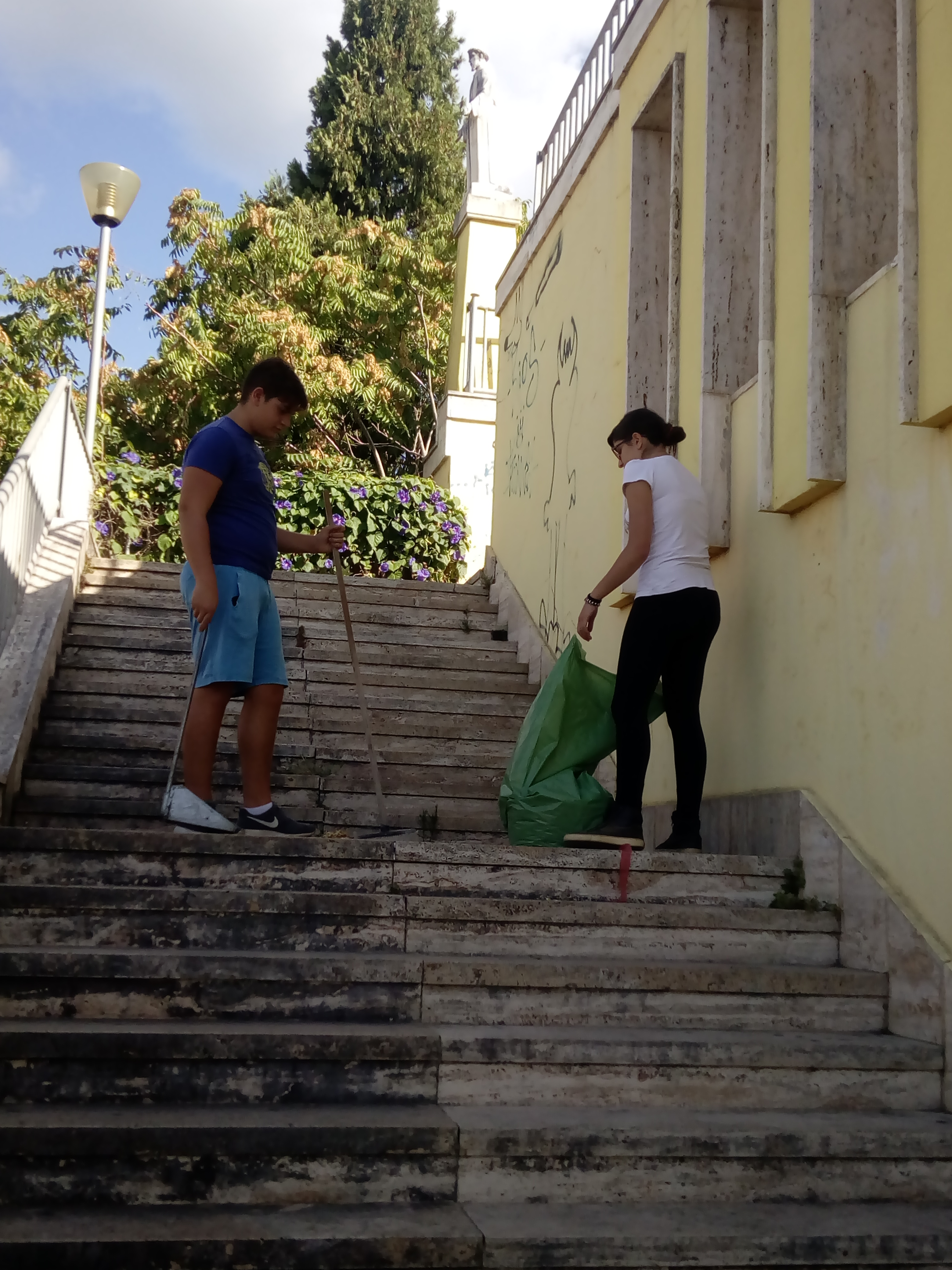 S. Antonio pulita scalinata-LameziaTermeit