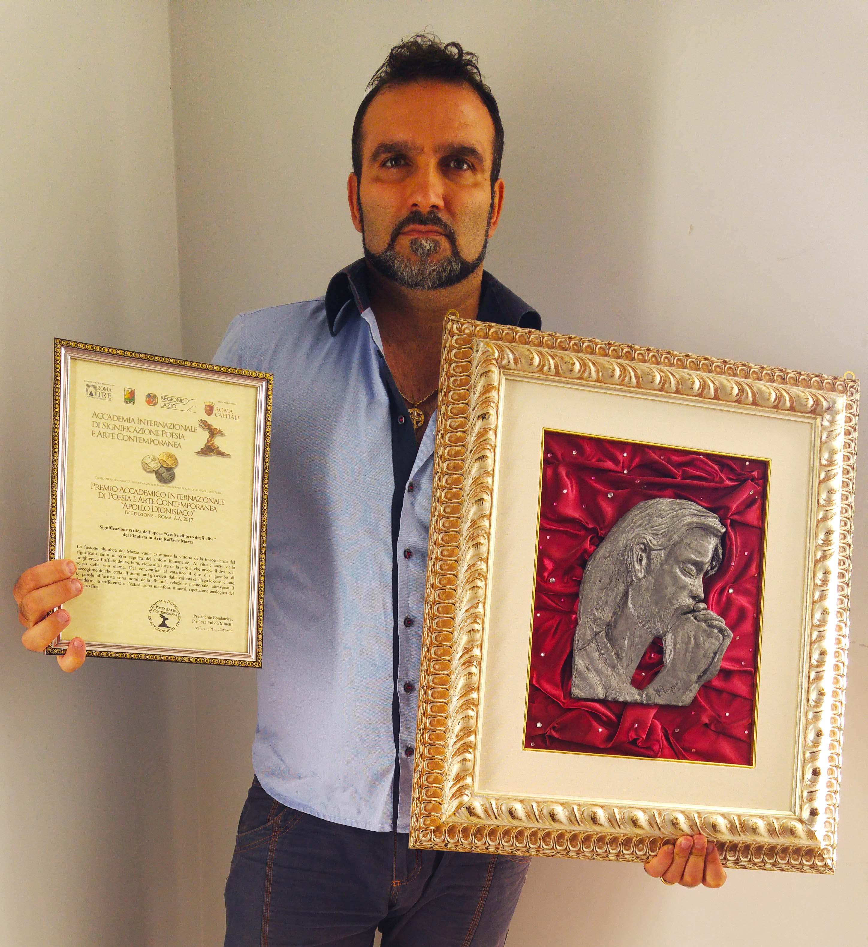 Raffaele Mazza, premio Apollo Dionisiaco 2017 - LameziaTerme.it