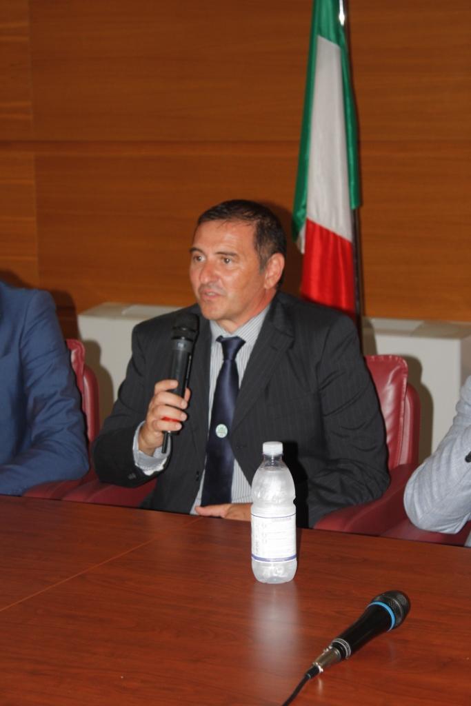 Il presidente Nicola Mazzocca