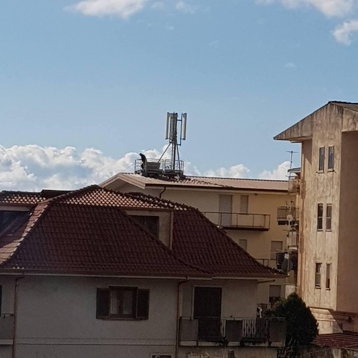 antenna via giovanni de sensi