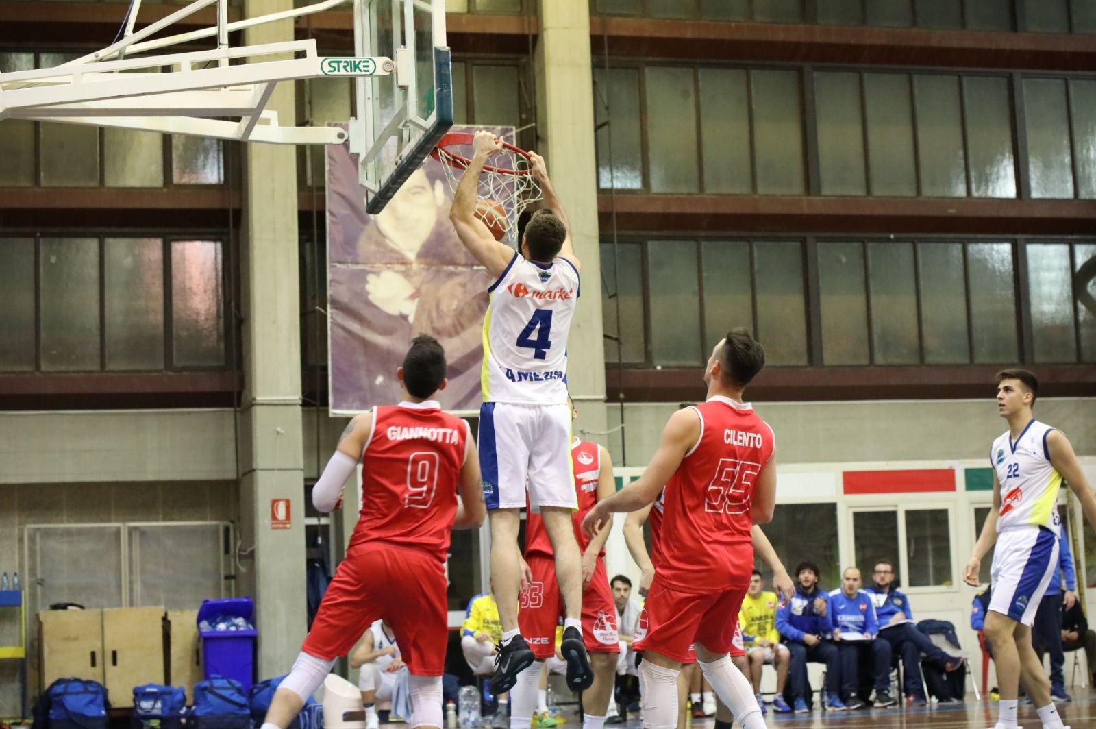 Basketball Lamezia bum bum rende