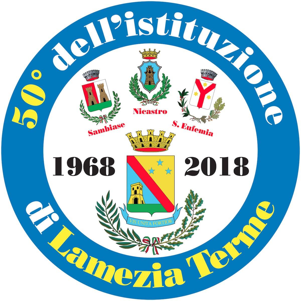 Logo 50 Lamezia Terme storicitta
