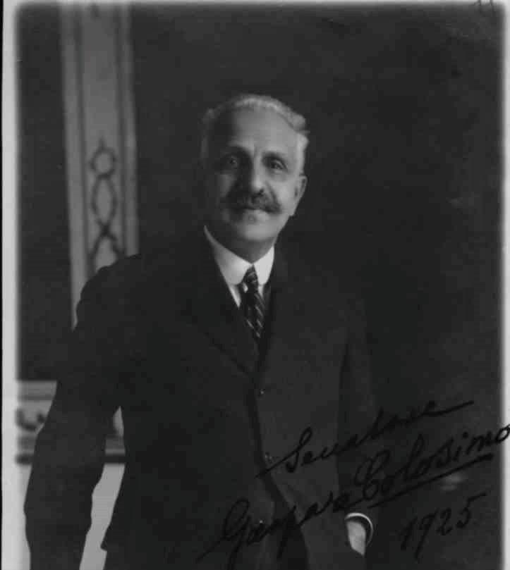 Gaspare Colosimo, presidente del consiglio