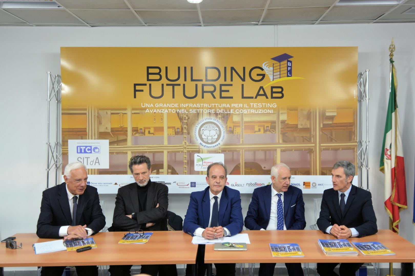 Building Future Lab, conferenza stampa