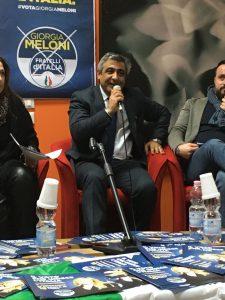 Gino Vescio solidarieta a Giuseppe D'Ippolito
