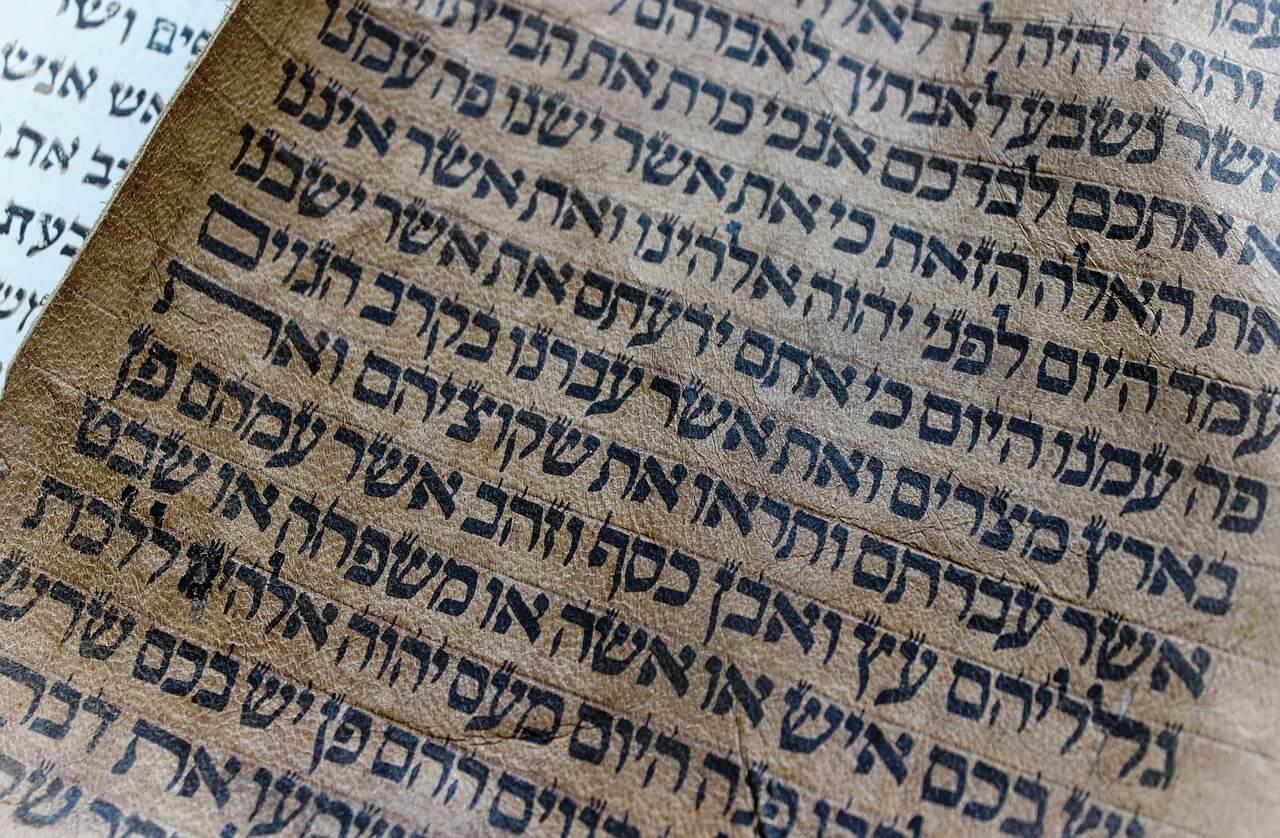Risultati immagini per bibbia ebraica