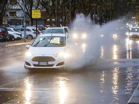 pioggia maltempo in Calabria