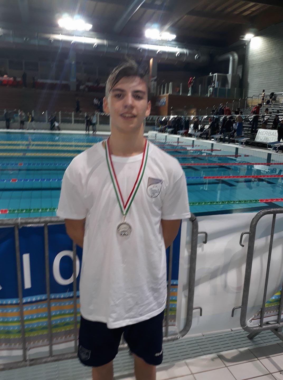 Matteo Torchia medaglia d'argento