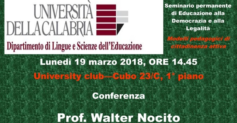 Walter Nocito, conferenza - Lameziatermeit
