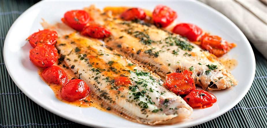 Calabria pesce persico con peperoncino