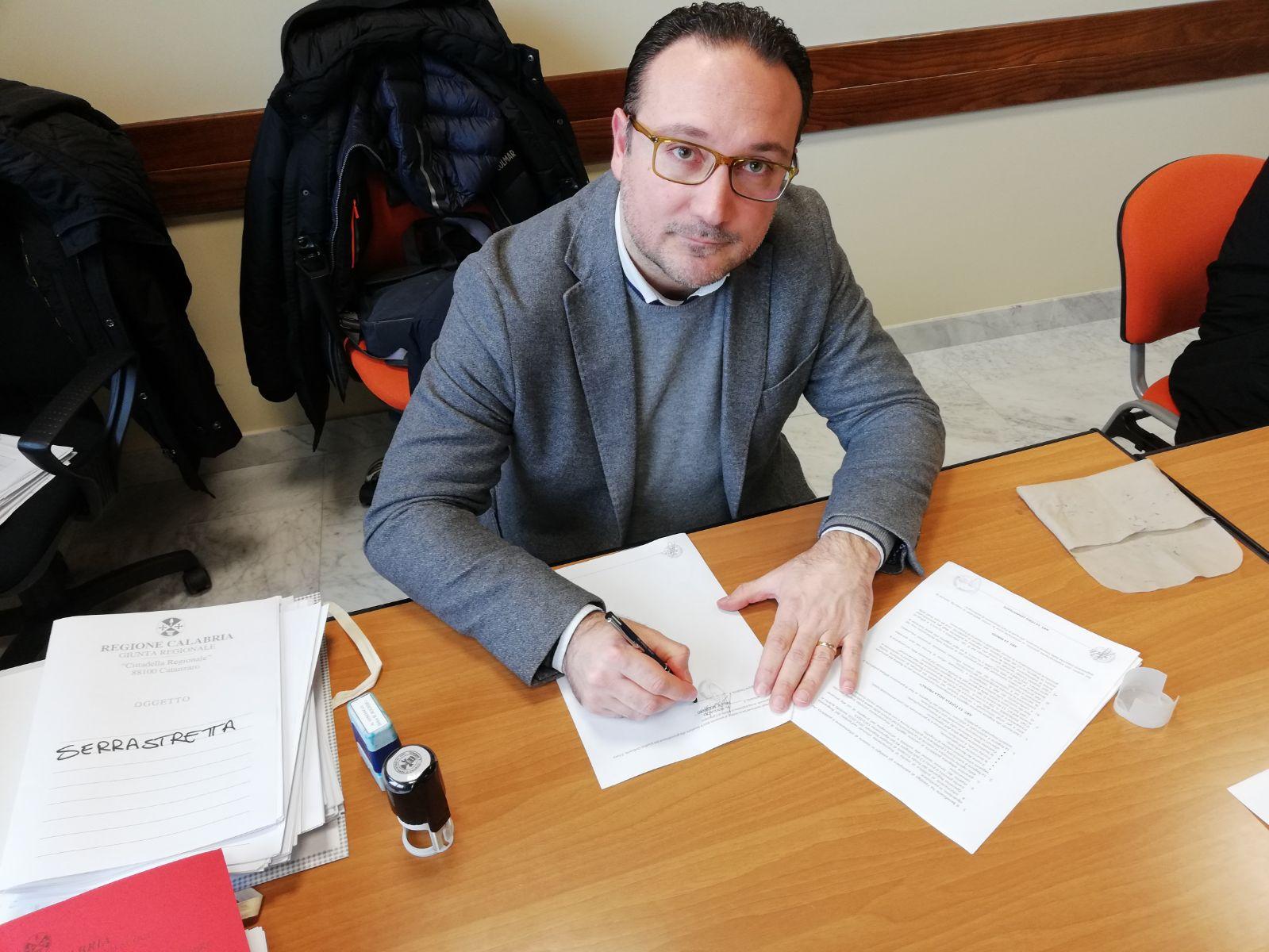 Felice Molinaro, sindaco Serrastretta - Lameziaterme.it