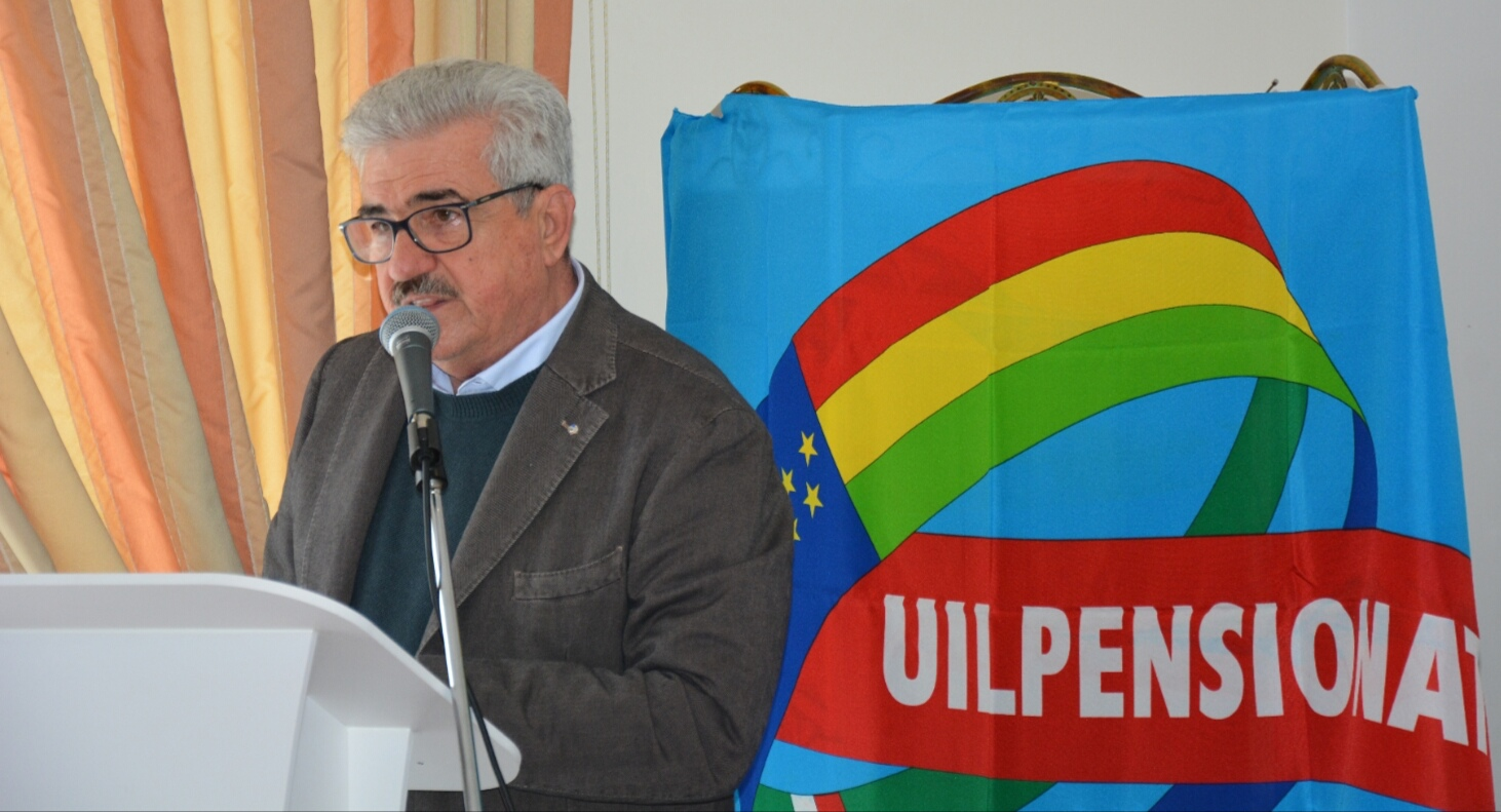 Pino Zito, Uil pensionati - lameziaterme.it