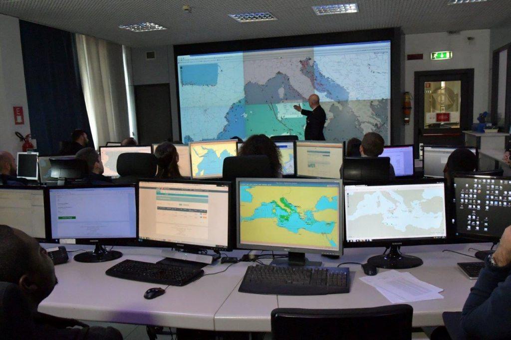 Giornata del mare, incontro tra il Comando Generale della Guardia Costiera con la delegazione della LUISS Business School di Roma