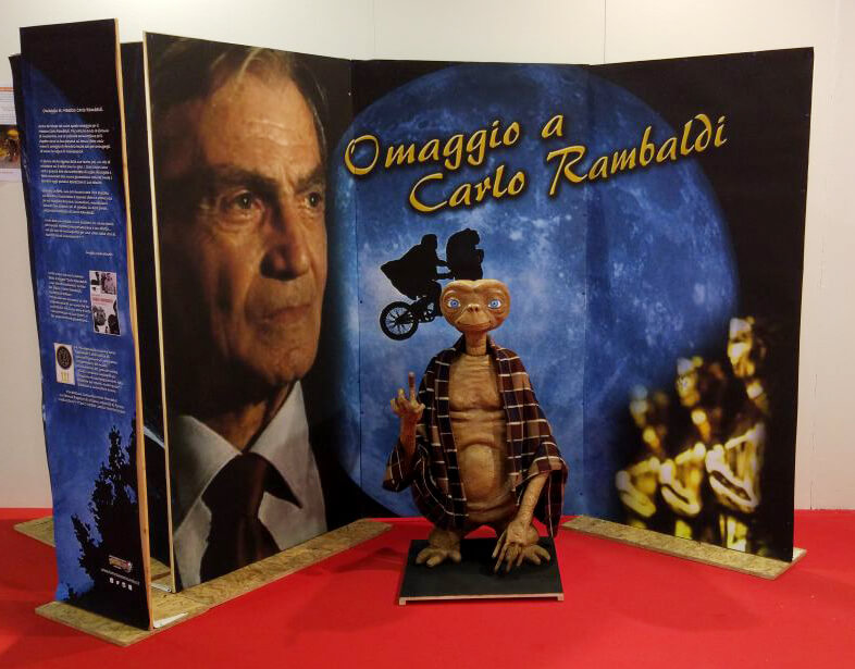 Associazione Attivamente omaggia Carlo Rambaldi al Comics and Games Fest