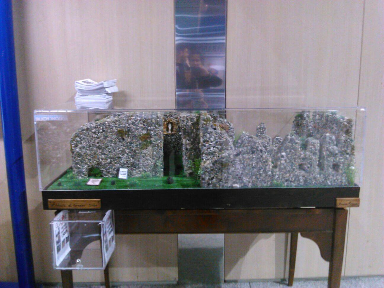 All'aeroporto di Lamezia un plastico sull'Abbazia di Corazzo