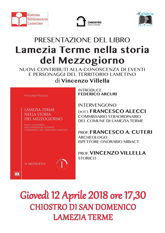 villella presentazione libro Lamezia Terme nella storia del Mezzogiorno-LameziaTermeit