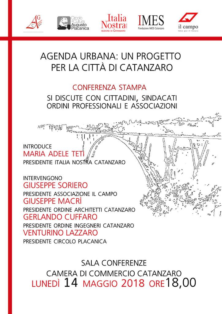Agenda Urbana: un progetto per la città di Catanzaro