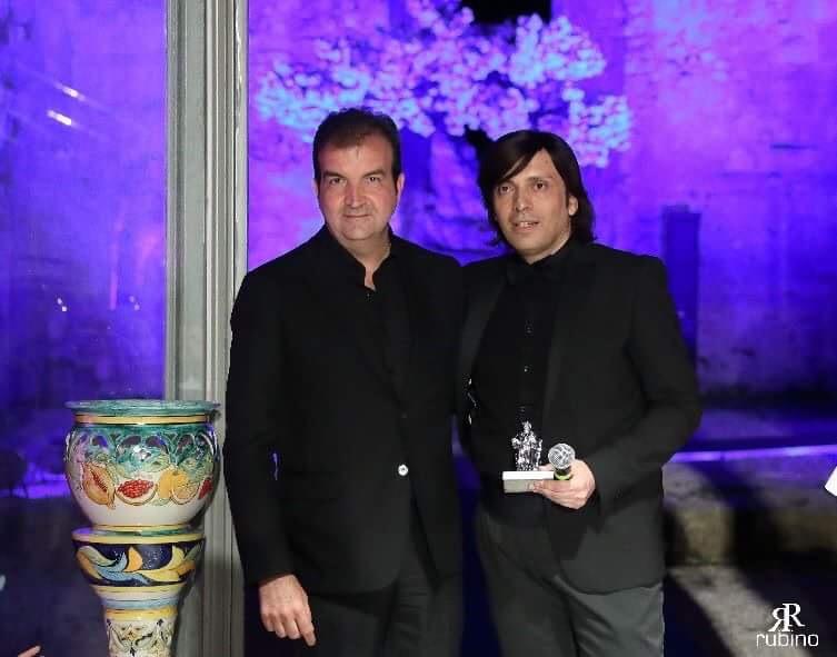 Anton Giulio Grande premiato con il Telesio d'Argento