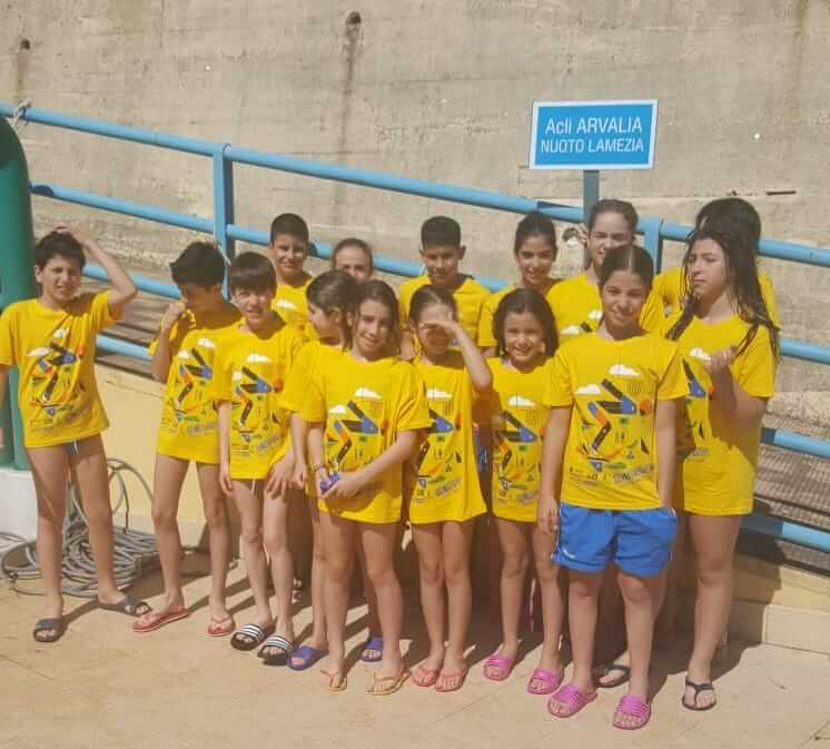 Arvalia Nuoto Lamezia protagonista al 14° trofeo internazionale Piskeo