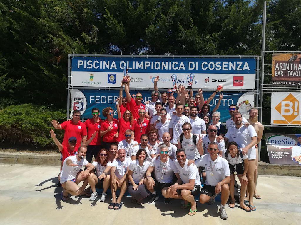 Arvalia Nuoto Lamezia medaglia di bronzo al Meeting Città di Cosenza