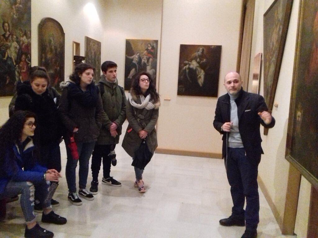 Studenti del Campanella alla riscoperta dei tesori del museo diocesano