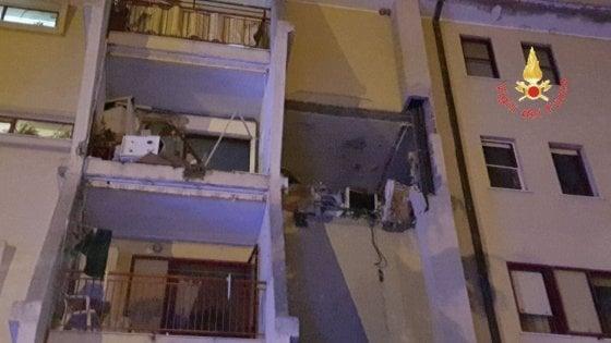 Esplode appartamento Crotone