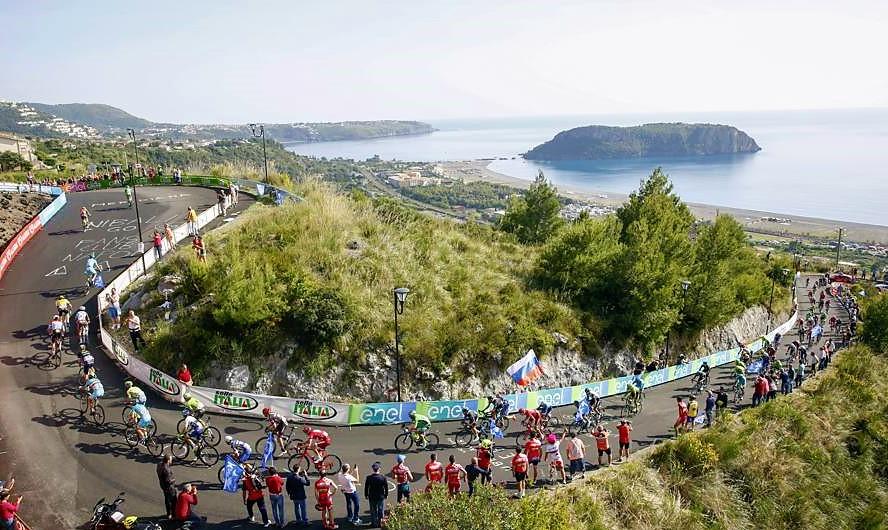 Ciclisti Giro d'Italia Calabria