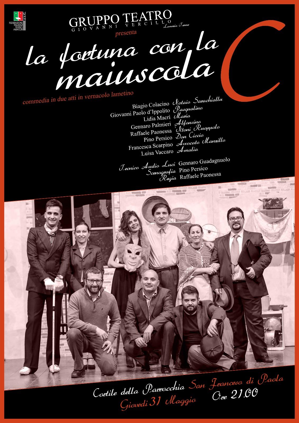 Il Gruppo teatrale G. Vercillo rende onore a San Francesco da Paola