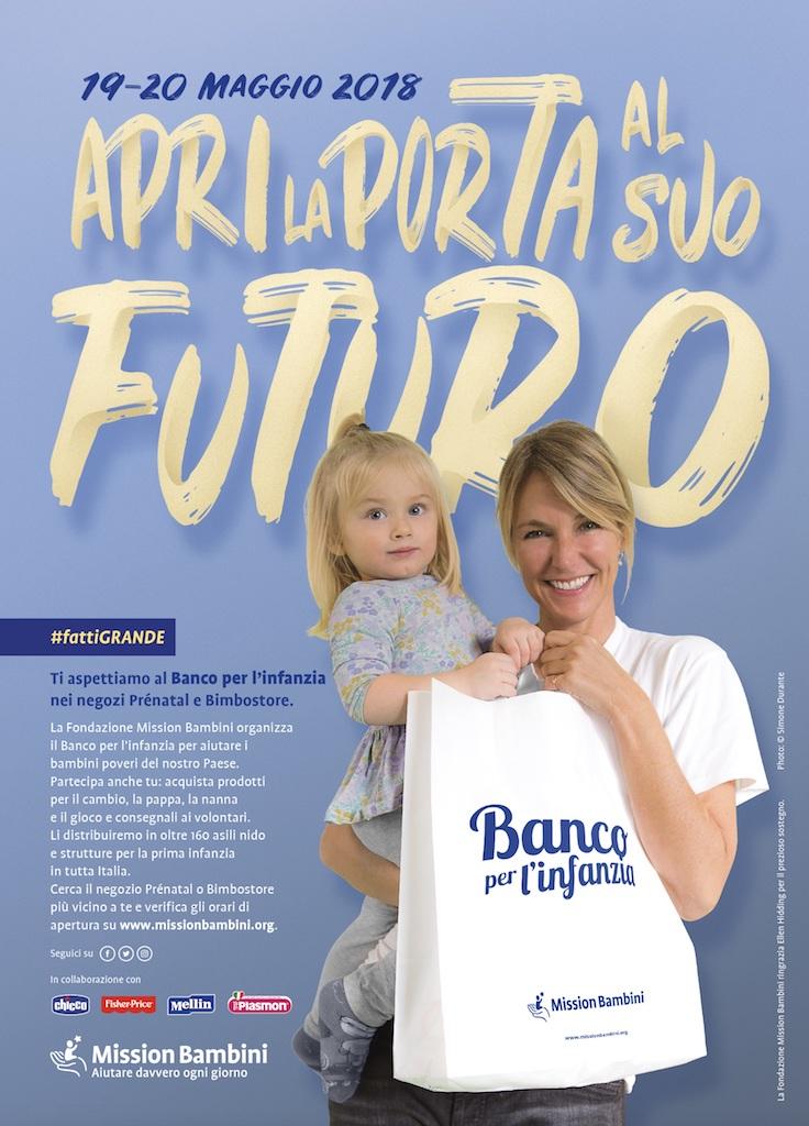 Anche a Lamezia il Banco per l'infanzia, un aiuto per i bambini in difficoltà