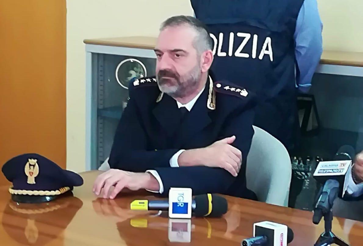 Lamezia, il commissario Chiacchiera trasferito alla Mobile di Catanzaro