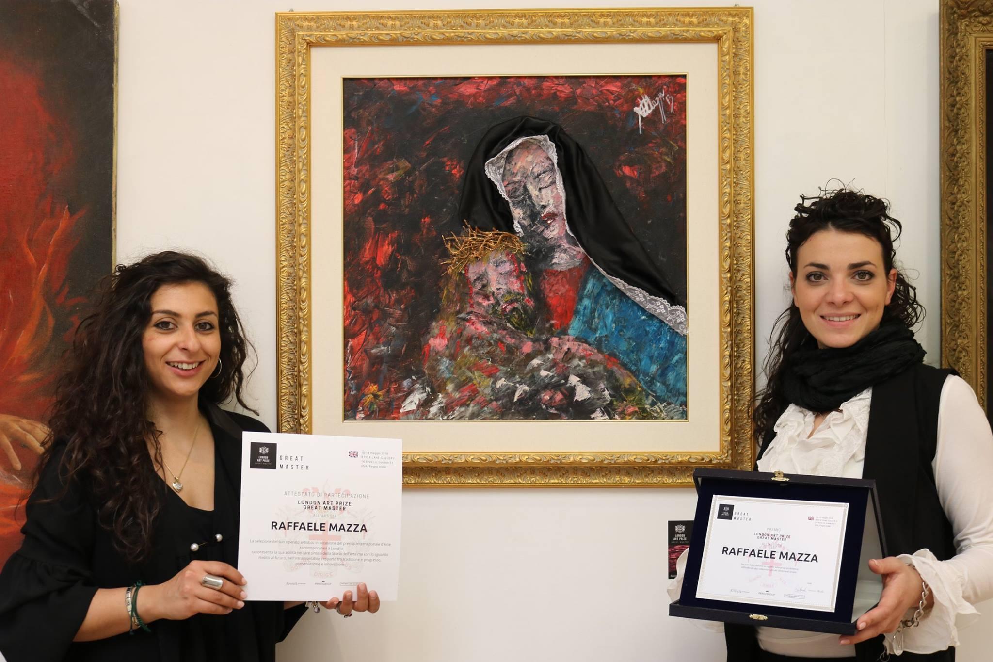 Raffaele Mazza si aggiudica il prestigioso Premio Internazionale London Art Prize Great Master