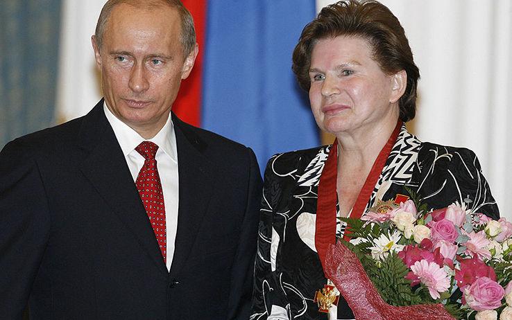 Vladimir Putin Valentina Tereškova